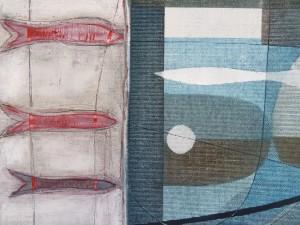 detail - Cadmium red herring