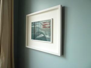 Cadmium Catch framed