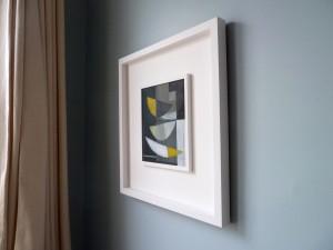 Un Deux Trois framed